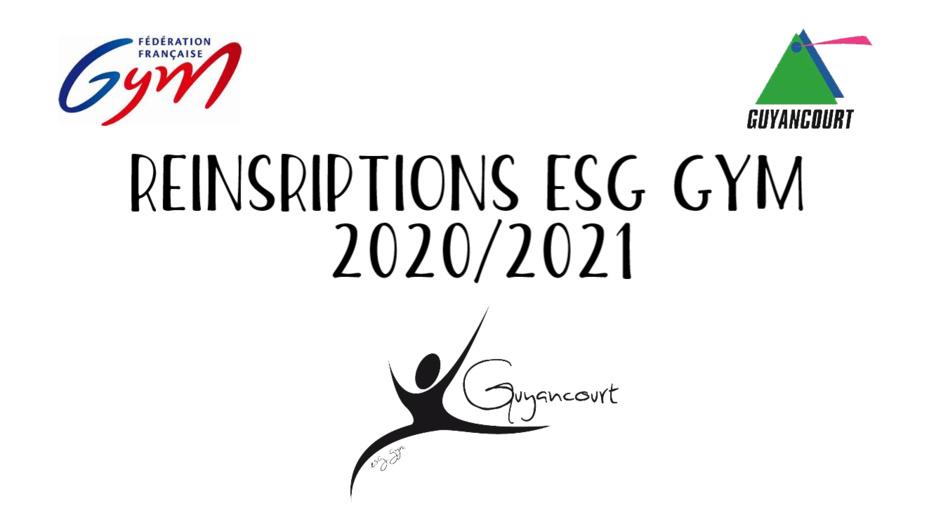 Ré-inscriptions 2020/2021