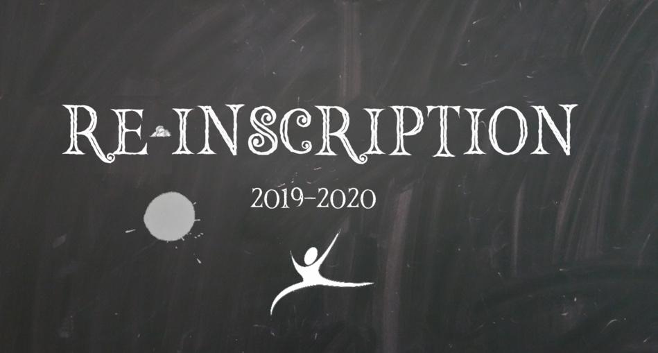 INSCRIPTIONS - REINSCRIPTIONS