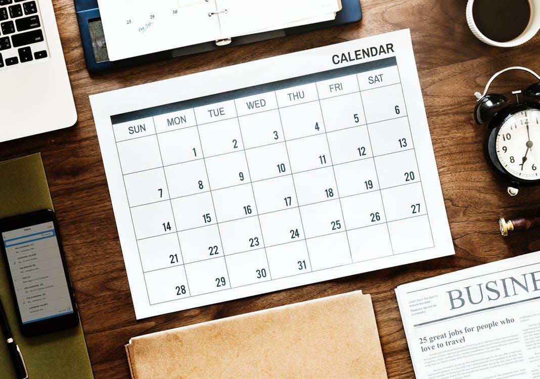 Planning des cours 2018 2019