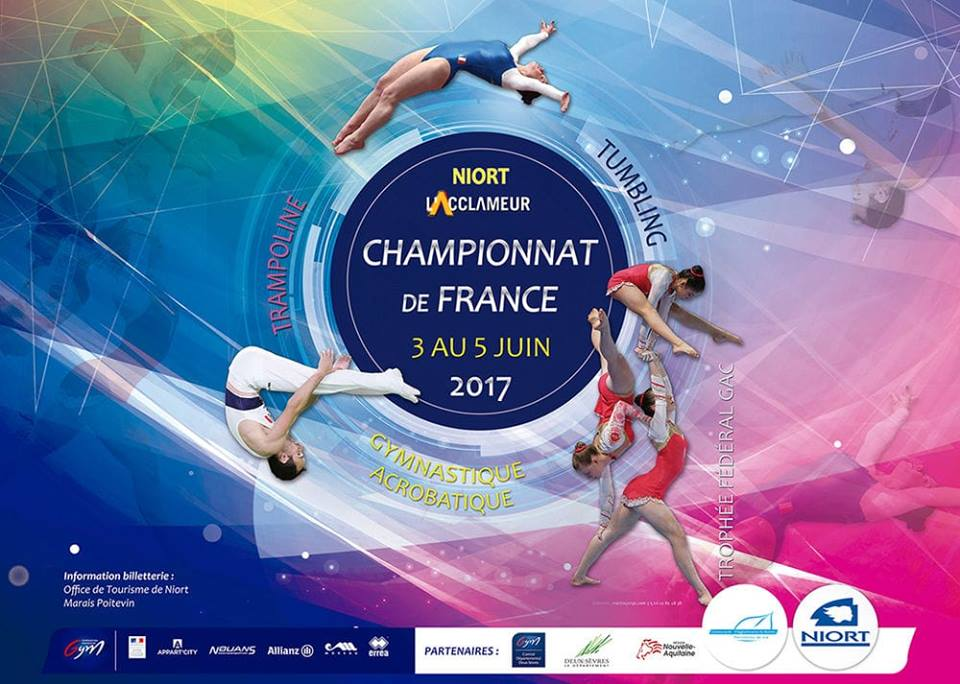 TRAMPOLINE: Championnat de France à Niort