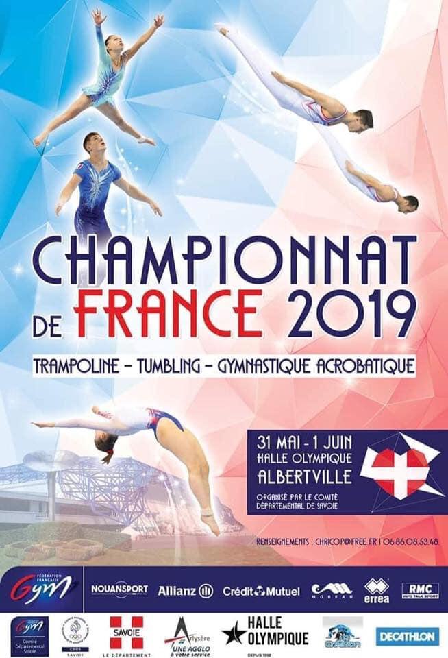 TRAMPOLINE - Championnats de France 2019