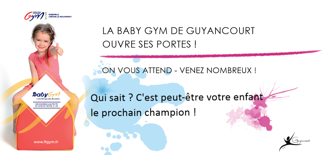 PORTES OUVERTES BABY GYM