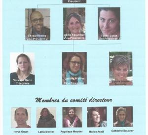 Le Comité Directeur 2016-2017