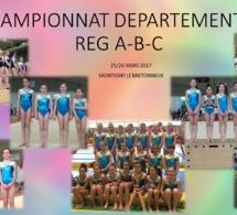 GAF: Championnat Départemental Equipe Régional A-B-C
