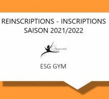 REINSCRIPTIONS / INSCRIPTIONS SAISON 2021-2022