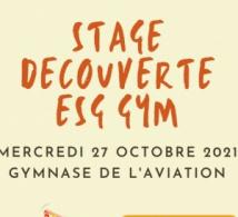 STAGE DE DECOUVERTE DES ACTIVITES GYMNIQUES LE 27 OCTOBRE 2021