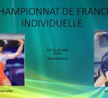 GAF: Résultats Championnat de France Individuelle à Montbéliard