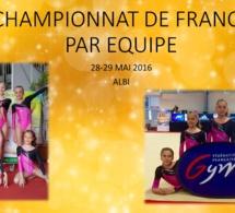 GAF: Résultats championnat de France par équipe à Albi