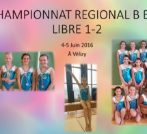 GAF: Résultats Finale Régionale DR Libre 1 et 2 à Vélizy